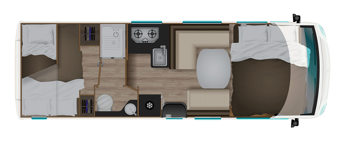 camping car sb740 itineo traveller. Black Bedroom Furniture Sets. Home Design Ideas