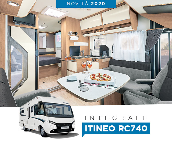 Nouvel intégral ITINEO RC740 !